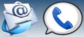 Ota yhteyttä sähköpostilla tai soittamalla